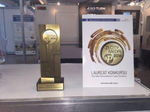 Wyróżnienie Złotym Medalem centrum obróbczego ER-VMC 1363LB