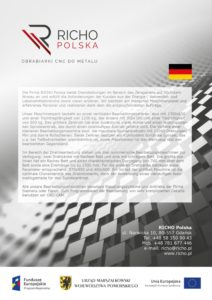 Richo Polska - dokument po niemiecku