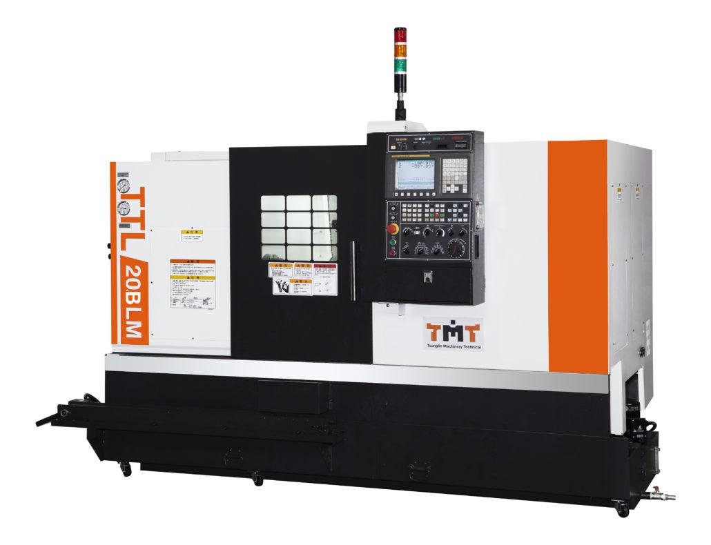 Tokarka CNC TTL-20BLMY ze skośnym łożem napędzane narzędzia oś Y